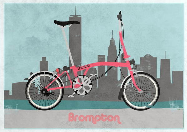 Bromptons are the perfect commuter bike for the urban junkie!