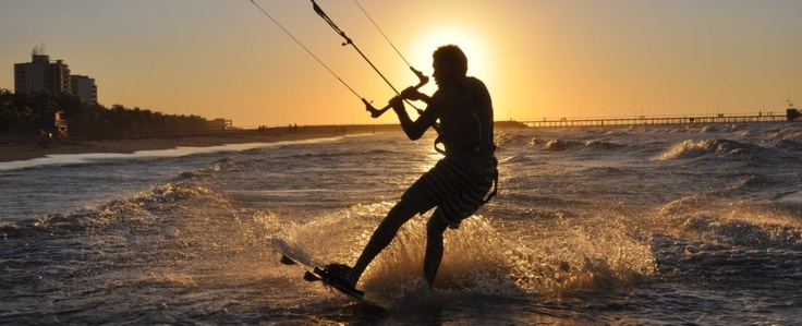 Kite suf en Riohacha
