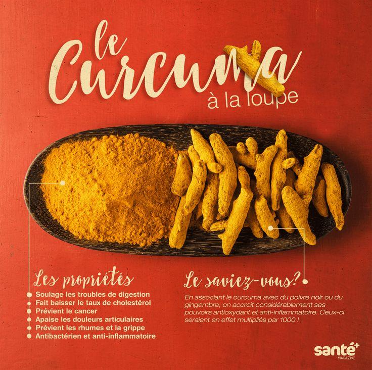 #Curcuma #propriétés #lesaviezvous? #bienfaits #épices #élixir #àlaloupe
