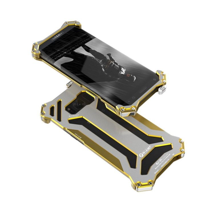 R-just Metal Dust Protective Case for Samsun Galaxy S8/S8 Plus