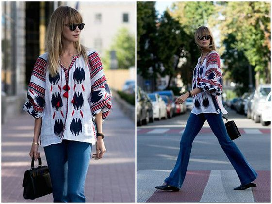 Get this look: http://lb.nu/look/8659661  More looks by Anastasiia Masiutkina: http://lb.nu/anastasiiamas  Items in this look:  Vita Kin Top, Stella Mc Cartney Jeans, Massimo Dutti Shoes, Les Petits Joueurs Bag   #bohemian #chic #elegant #streetstyle #anastasiiamasiutkina #eatdresstravel #fashioninfluencer #fashion #streetstylevgenio