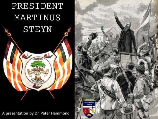President Martinus Steyn