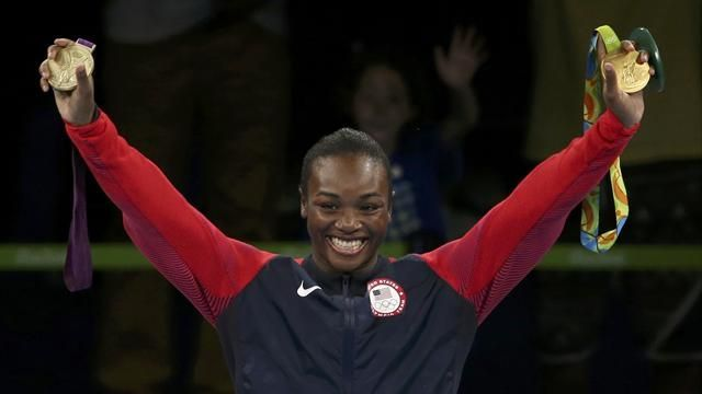 Olympics Rio 2016: Claressa Shields defends women's middleweight gold title - Rio 2016 - Boxing - Eurosport