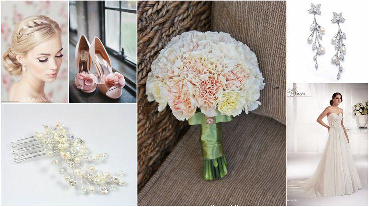 pastel bridal inspiration