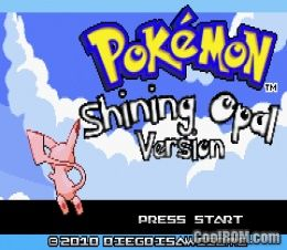 Pokemon Shining Opal (Hack) ROM Download for Gameboy Advance / GBA - CoolROM.com