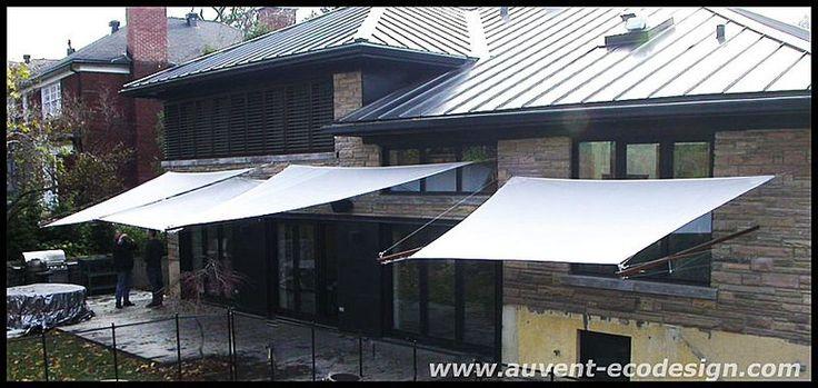 auvent codesign profitez pleinement de votre cour donnez du panache votre terrasse auvent. Black Bedroom Furniture Sets. Home Design Ideas