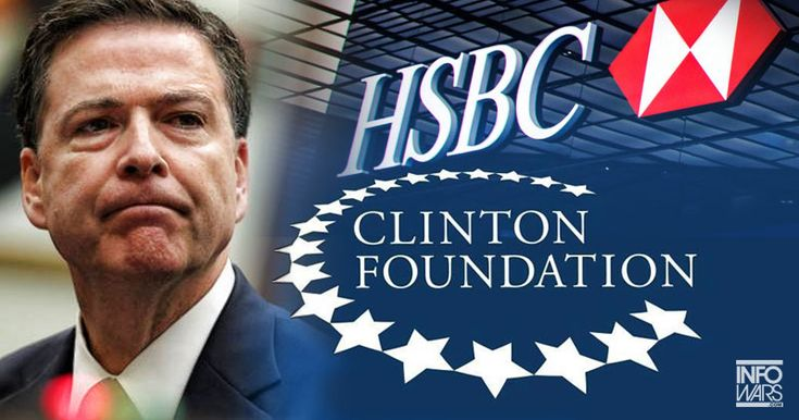 FBI BOSS COMEY CONNECTED TO CLINTON FOUNDATION House Republicans call for a special prosecutor Kurt Nimmo - JULY 12, 2016