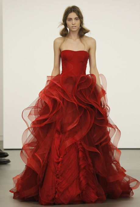 Vera Wang - if only i had somewhere to wear this...