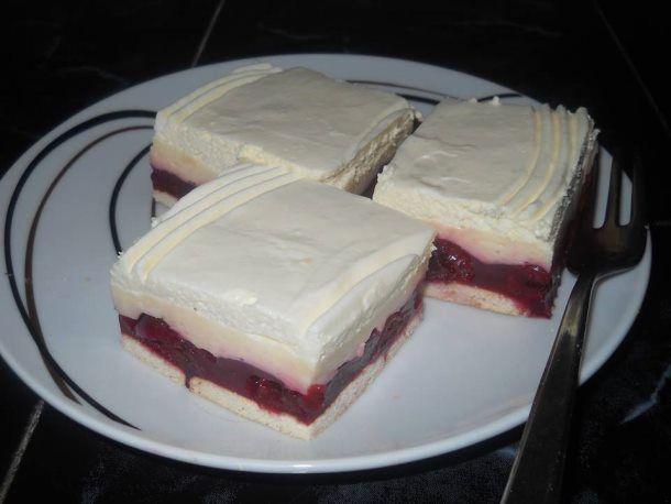 Laganini kolač s višnjama