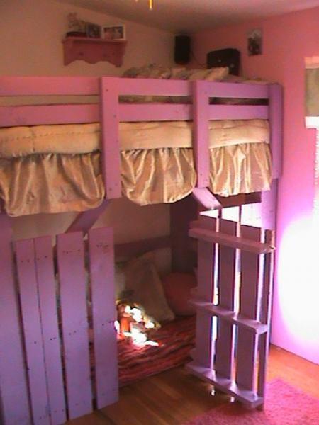 Best 25 Pallet Loft Bed Ideas On Pinterest