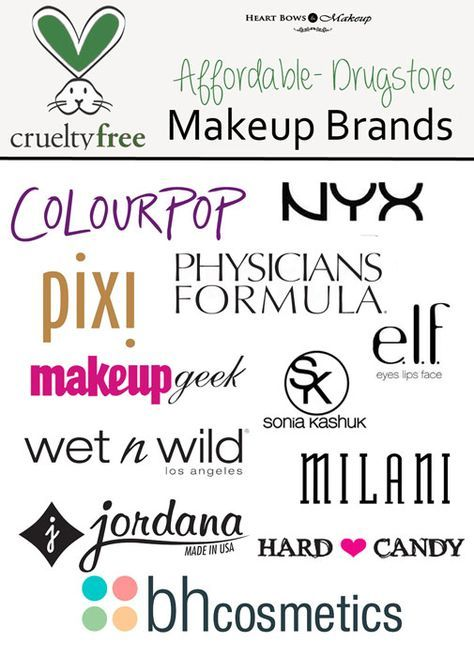 Cruelty Free Drugstore Makeup Brands -Please note BH Cosmetics may not be…