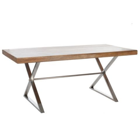 Hilton Natural Wood Dining Table - Casafina