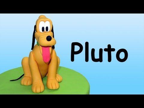 How to make Pluto (Cake Topper) / Cómo hacer a Pluto para decorar tortas - YouTube