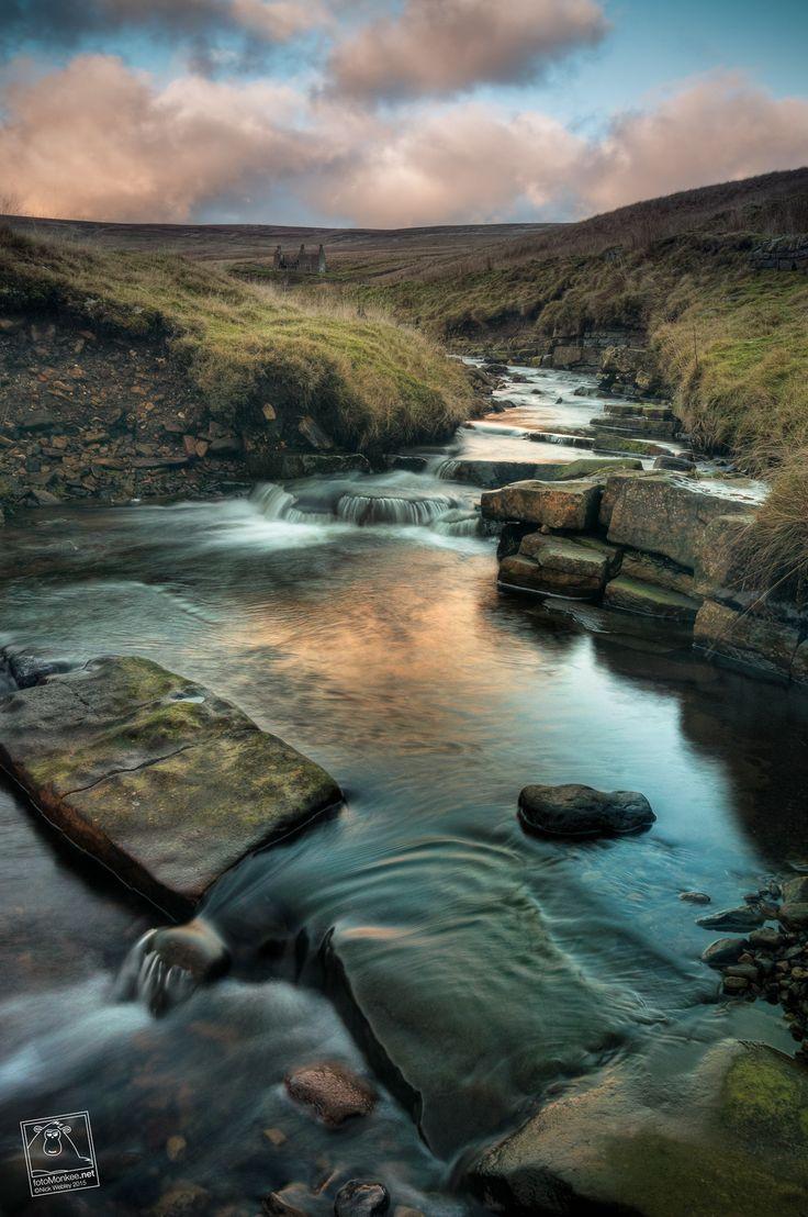 Flushiemere Beck, Newbiggin, Upper Teesdale, County Durham, UK