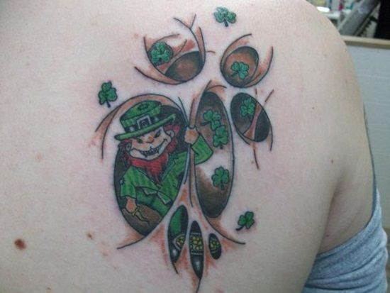 16-Leprechaun Tattoo