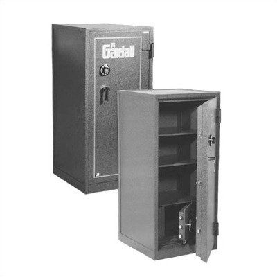 "Large ""B"" Rated Two-Hour Fire Resistant Safe Color: Gray, Lock Type: Group II Key-Op Lock, Size: Deluxe by Gardall Safe Corporation. $3281.25. Z-4820-KO-G Color: Gray, Lock Type: Group II Key-Op Lock, Size: Deluxe Features: -Three bolts from interior door into safe wall.-Interlocking bolts reach from the exterior door into the safe wall as well as a full length locking bar on hinge side of the door to prevent door from opening by removing the hinges.-Hard plate on b..."