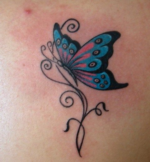 25 Great #Female #Tattoo with butterflies!       Are you a tattoo maniac, looking to find what the next project will be hit? I suggest to you 25 amazing women tattoo with #butterflies, you will adore!