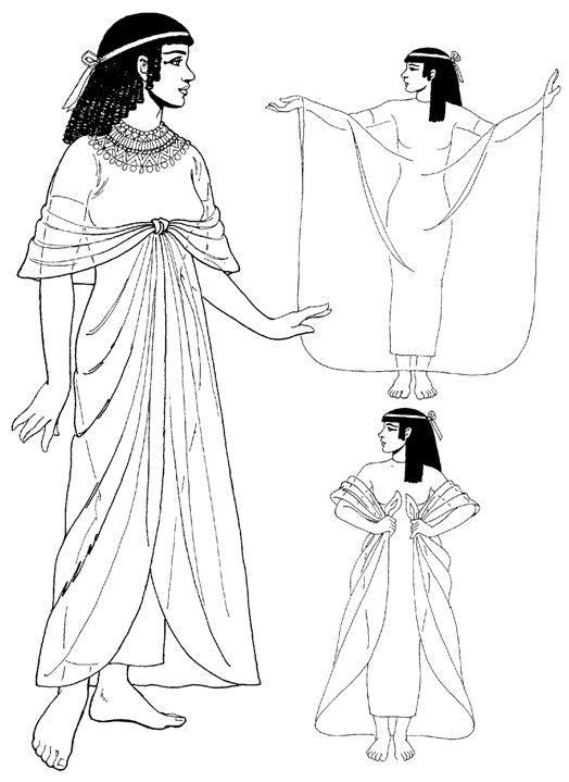 Древний египет костюм с картинками