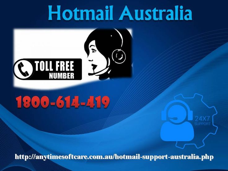 Errors are something that proves a great barrier while dealing with an urgent piece of work. Whether you are stuck in password recovery, email configuration, password reset, Account recovery, don't even have a single thought to make a call on toll-free no. 1-800-614-419 and solve all the problems of Hotmail Australia. They understand your problems and provide valuable support at the right time. To obtain more help on Hotmail, you can also visit our website…