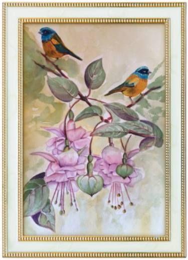 Fuchsias & Birds