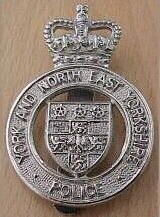 British Police online Museum - York and North East Yorkshire/York & North East Yorkshire Police Cap Badge QC