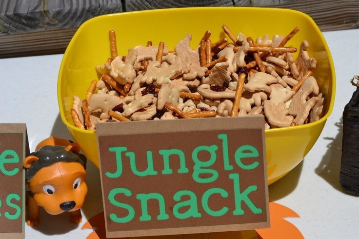 Jungle snack mix :)