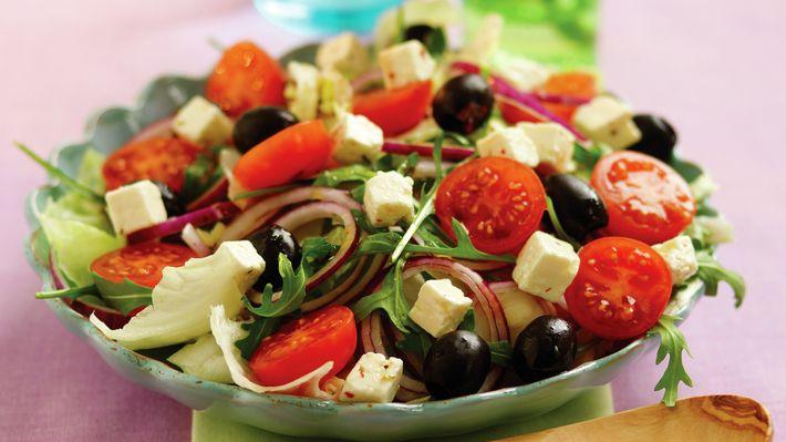 Gresk salat - Rask - Oppskrifter - MatPrat