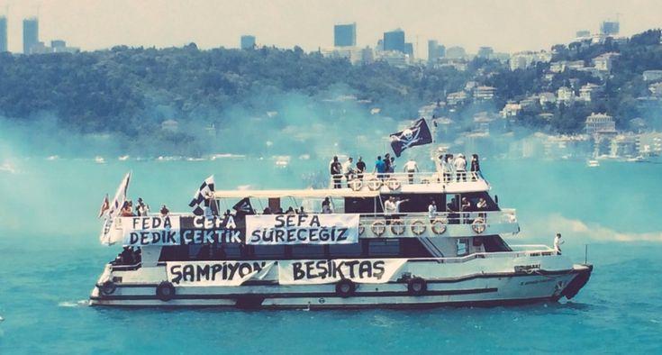 Dünya rekoru! 1000 tekne ile Beşiktaş Donanması 1