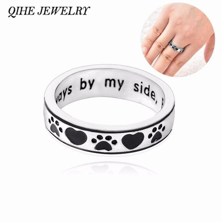 QIHE-JEWELRY-Personalised-Engraved-Always-by-my-side-Forever-in-my-heart-Dog-Pawprint-Wrap-Ring/32739283434.html >>> Nazhmite na izobrazheniye dlya polucheniya dopolnitel'noy informatsii.