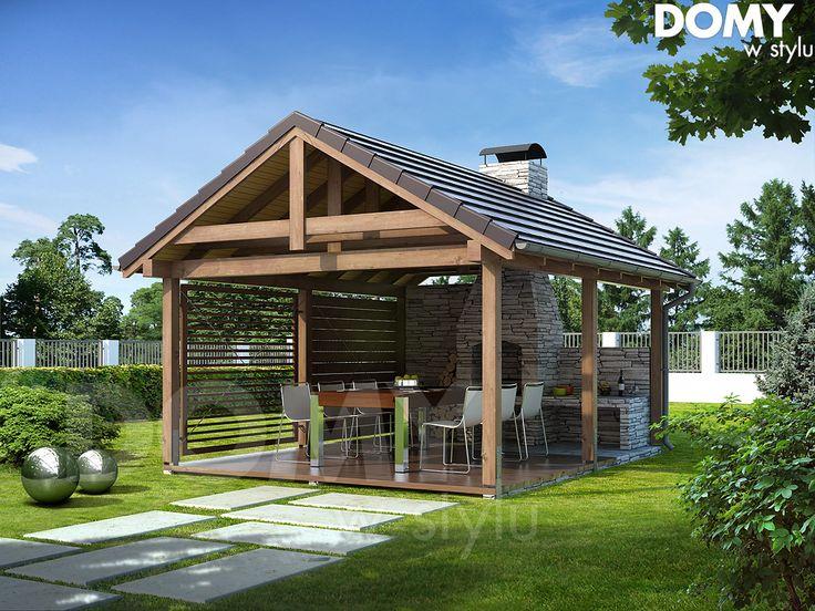 Wizualizacja projektu domu Altanka 4