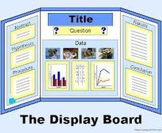 Science fair board- good for any kind of presentation