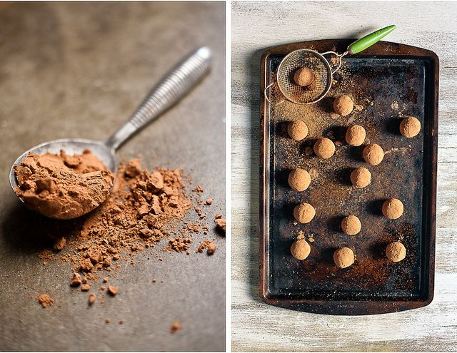 Date Truffle with nuts | food glorious food | Pinterest
