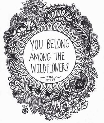 wildflowers you belong doodel