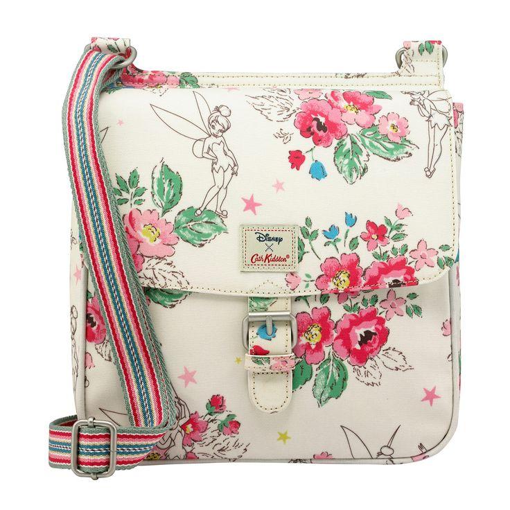 Sketched Tinker Bell Tab Saddle Bag | Peter Pan Bags | CathKidston