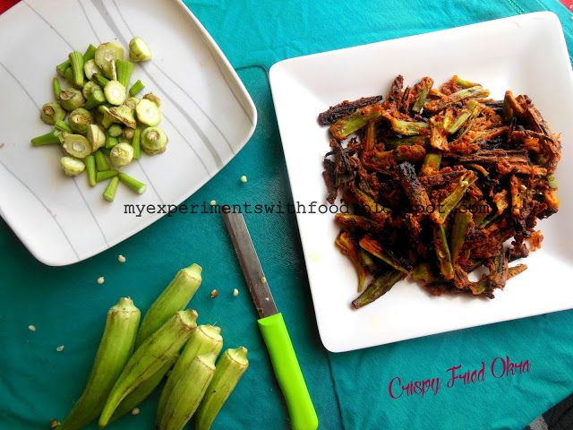 141 best my experiments with food images on pinterest my experiments with food crispy fried okra kurkuri bhindi forumfinder Choice Image