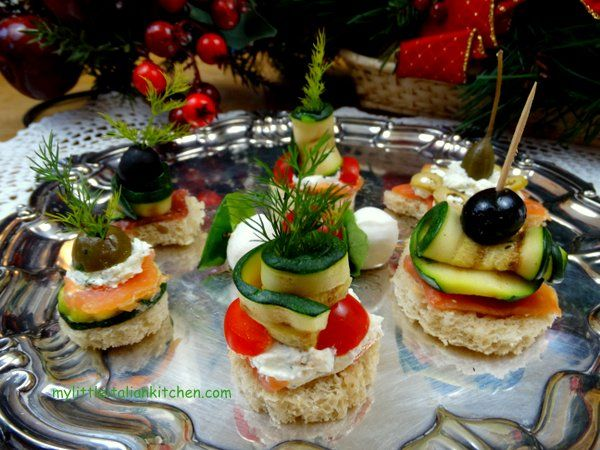 Best 25 party canapes ideas on pinterest easy canapes for Italian canape ideas