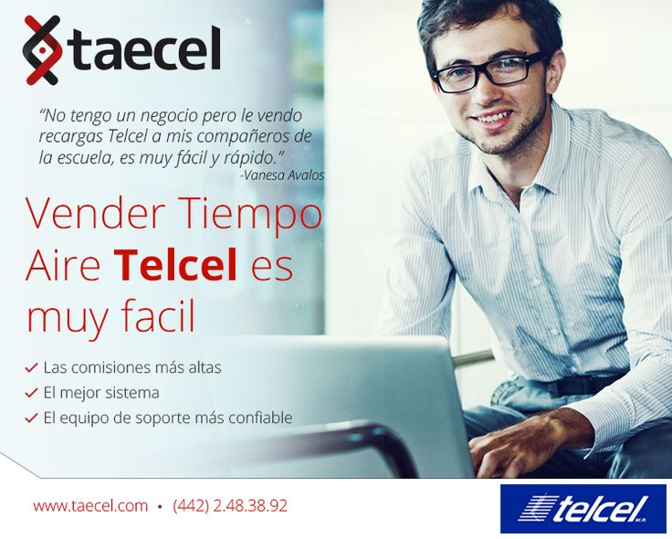 #Vende #TiempoAire #Telcel #México #PyMes #Celulares