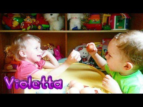ЧЕЛЛЕНДЖ Яйца Битва Яиц Утиные яйца против Куриных Игра для детей Вызов принят!!! - YouTube