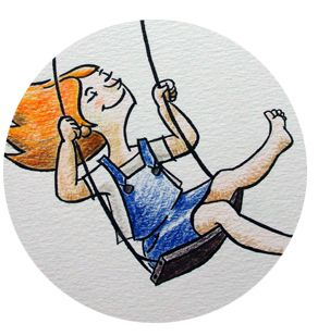Pancakes & Camembert: C'est la rentrée ! Détail illustration Ulule - Nathalie Quéré