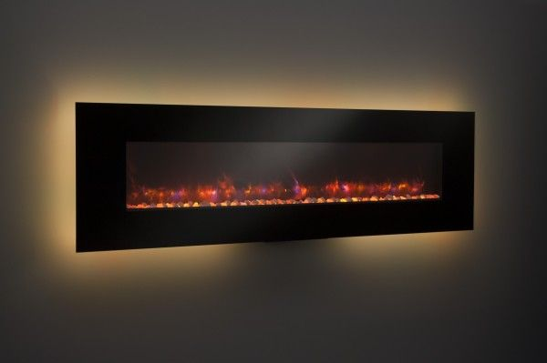 78 Best Ideas About Modern Electric Fireplace On Pinterest