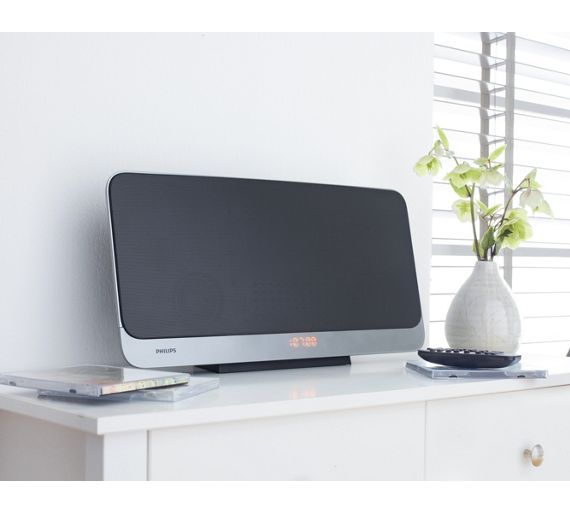 Buy Philips BTB2465 Compact Flat HiFi Music System at Argos.co.uk, visit Argos.co.uk to shop online for Hi-fi systems, Home audio, Technology