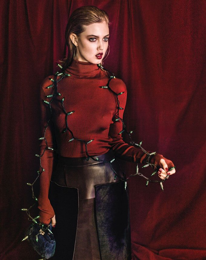 Линдси Виксон в Vogue Korea (Интернет-журнал ETODAY)