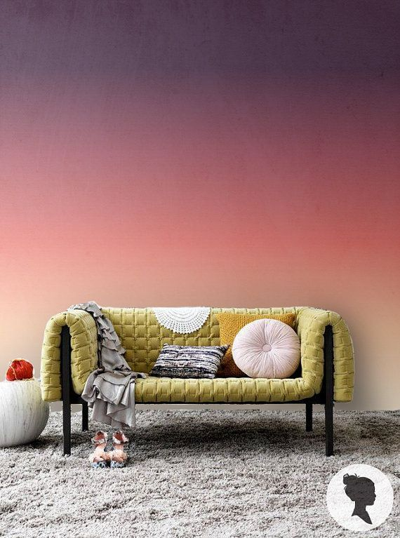 Find this peel and stick Ombre wallpaper on Etsy, by Livettes: https://www.etsy.com/listing/179192511/sunset-ombre-self-adhesive-wallpaper?ref=shop_home_active_1