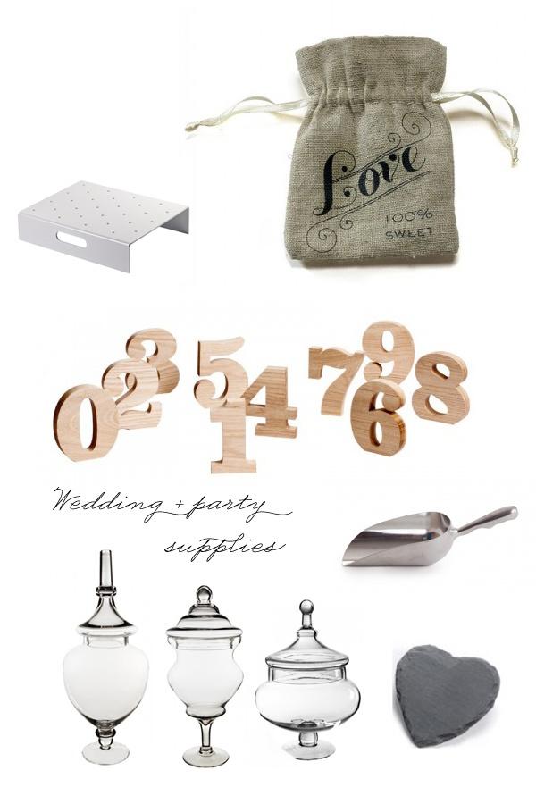special event & wedding supplies