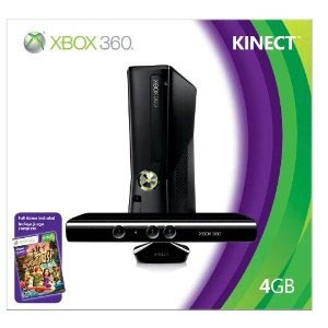 Xbox 360 4GB Console with Kinect Auction