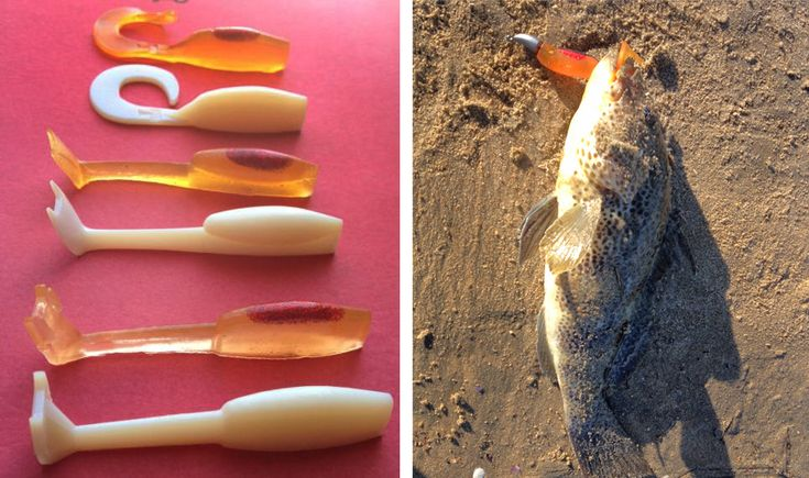 Diy fishing lures from 3d printed models and silicone for Fishing lure molds