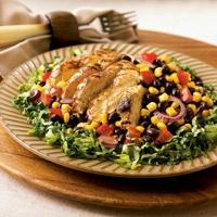saladsSalad Chicken, Grilled Chicken Salad, Chicken Salads, Hair Hairstyles, Salad Food And Drinks, Hairstyles Braids, Steve Mcqueen, Braids Curly Hair, Beans Corn