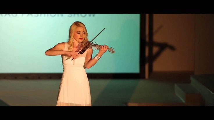 Kate Chruscicka's Leeds Rag Palladio Fashion Show Performance.