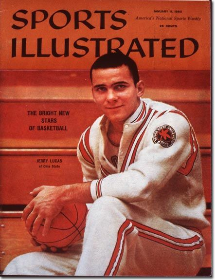 This week in basketball history: Jerry Lucas on the cover of Sports Illustrated. #Ohio #basketball #OHBBHOF