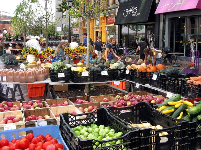 Portland Farmers' Market - a great daytime activity for you and your kids to check out the local produce. #portland #educationalactivities